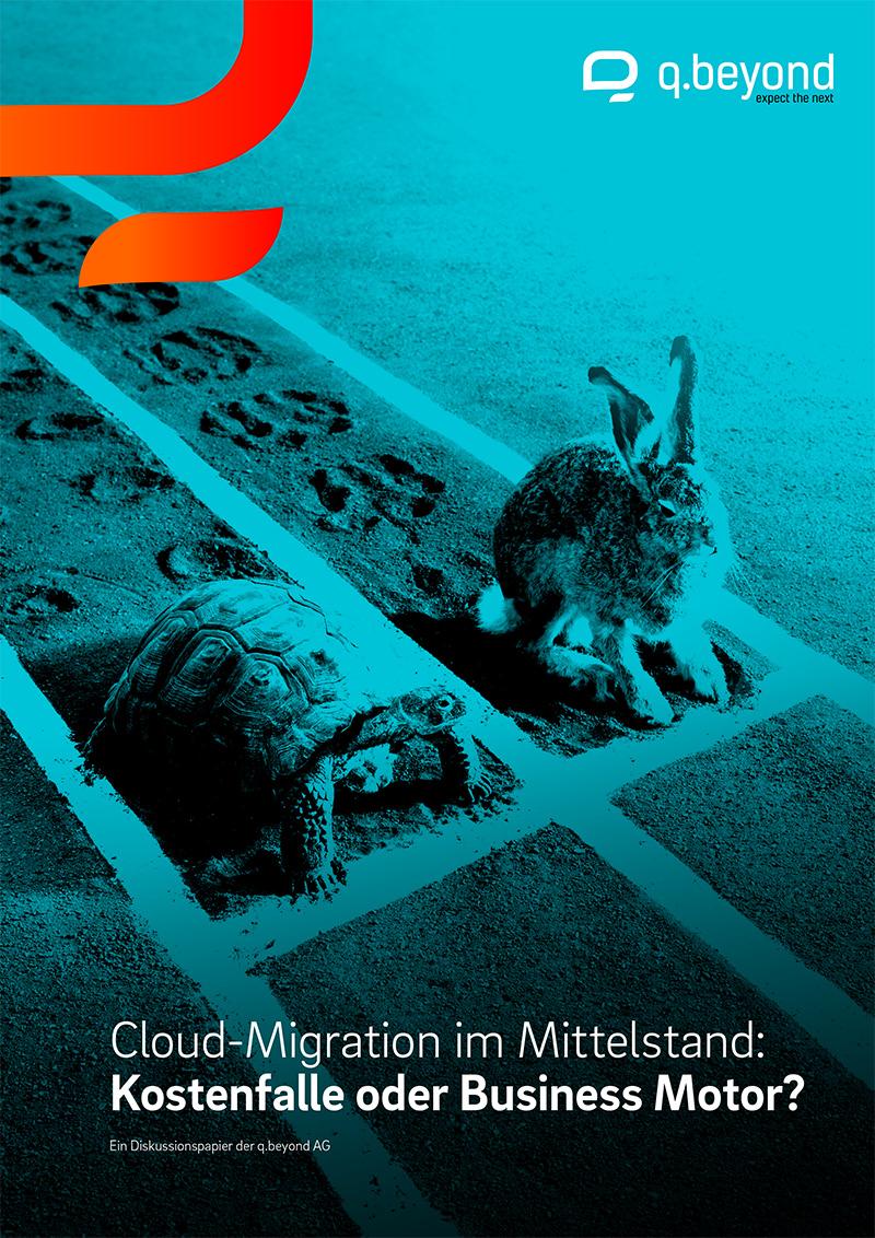 Titelseite Expertenstudie Cloud Migration